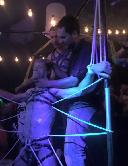 Folsom 2015 Bondage Demo at SF Eagle 4