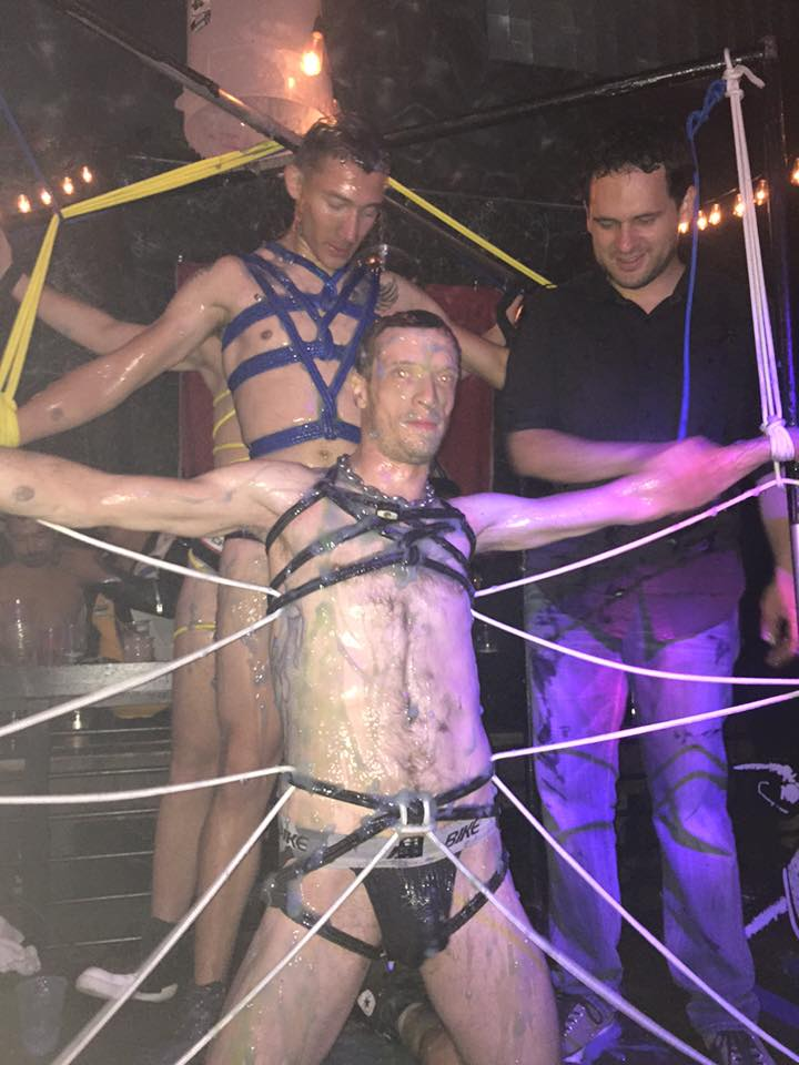 Folsom 2015 Bondage Demo at SF Eagle 5