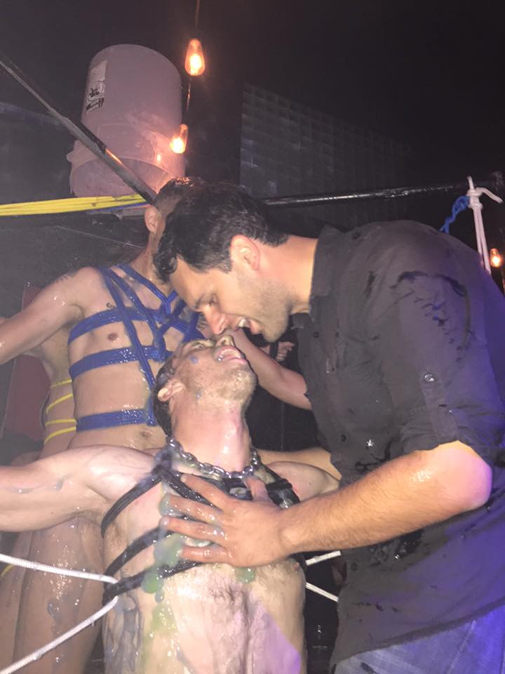 Folsom 2015 Bondage Demo at SF Eagle 8