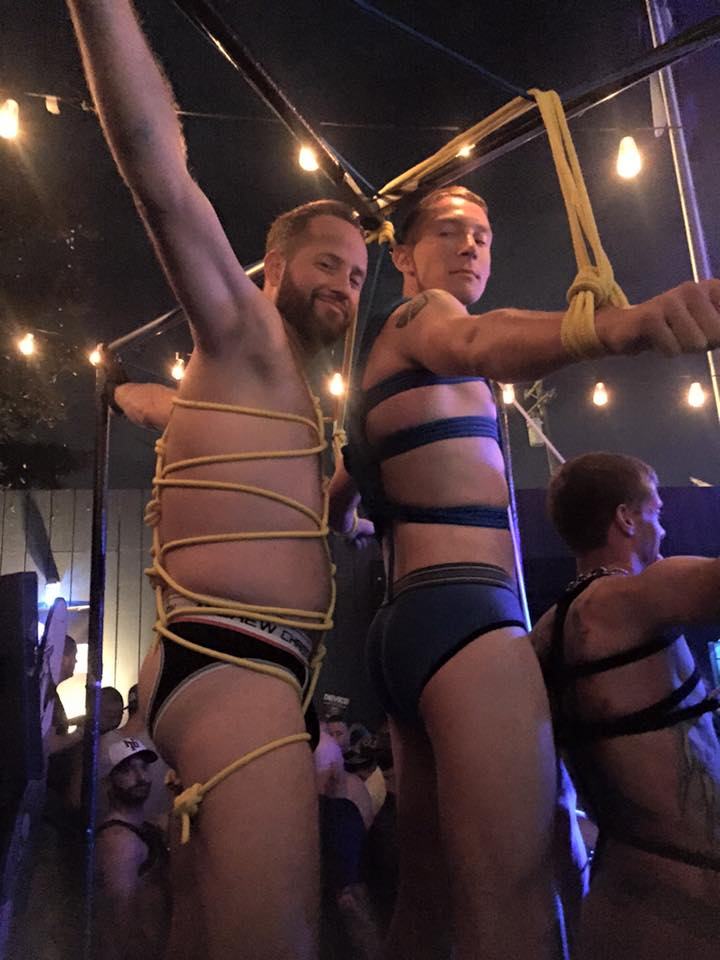 Folsom 2015 Bondage Demo at SF Eagle 10