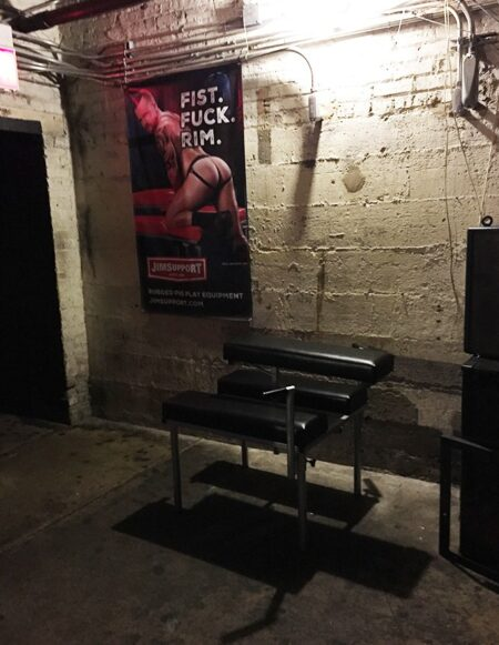 JimSupport Fuck Bench at Full Fetish Chicago by Recon