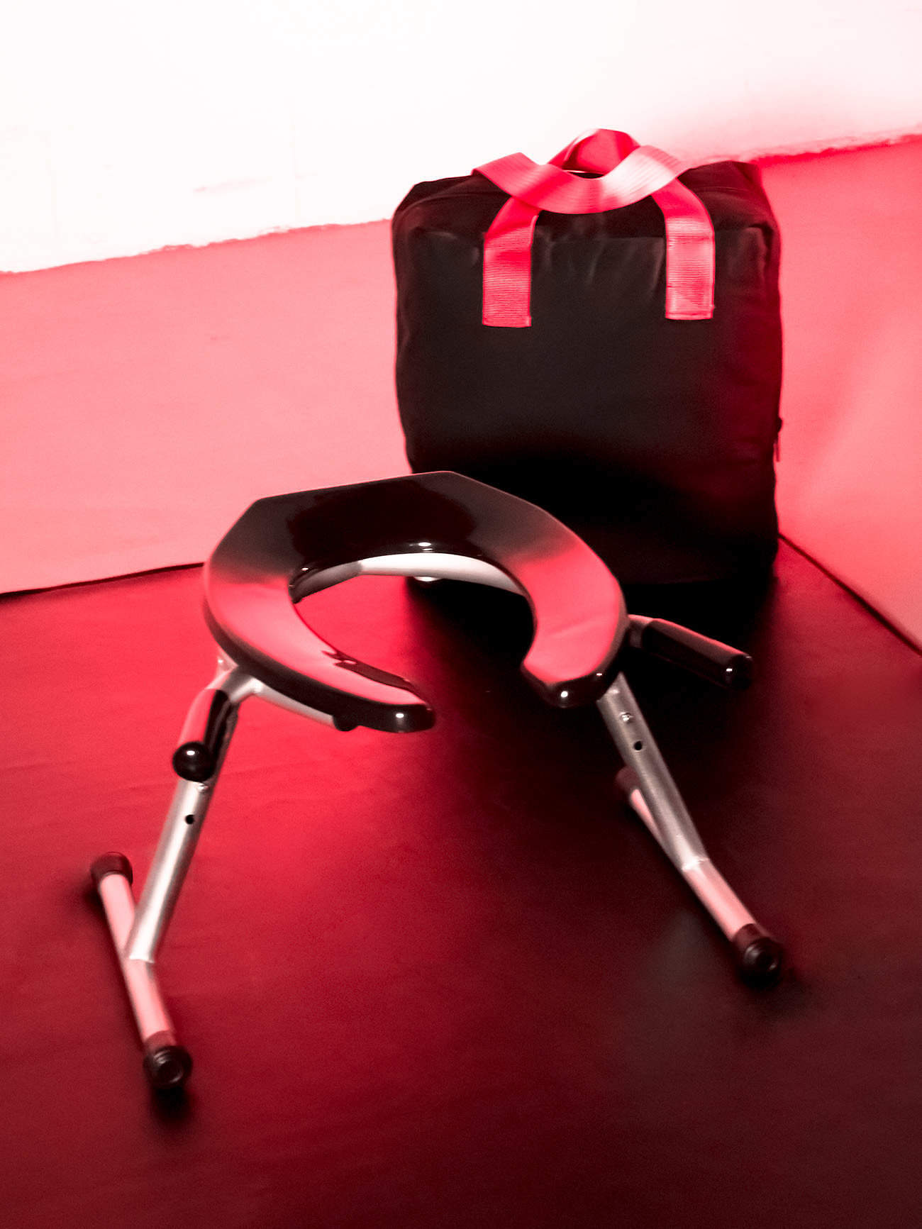 JimSupport Handled T-Leg Rim Seat, With Bag