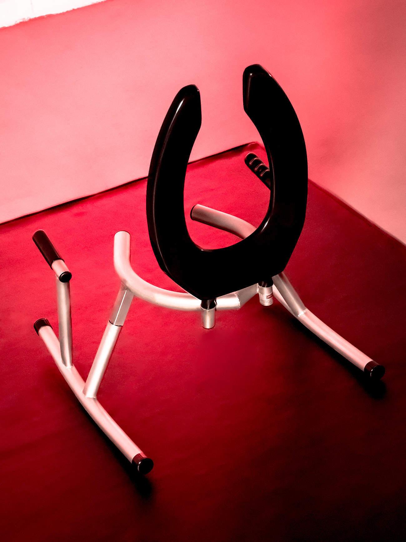 JimSupport Rim Rocker Rim Seat, Rear View