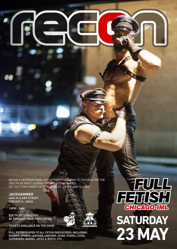 Recon Full Fetish Chicago Poster 2015