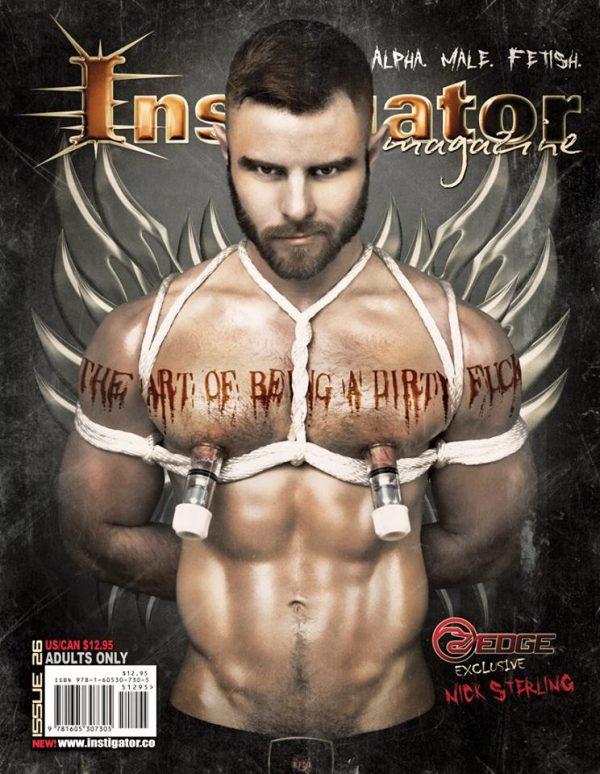 Instigator Magazine Issue 26 Cover