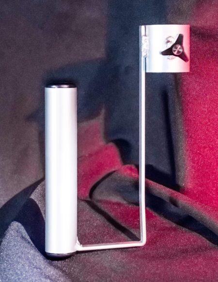 JimSupport Sling Frame Paper Towel Holder Accessory, Hardware Detail