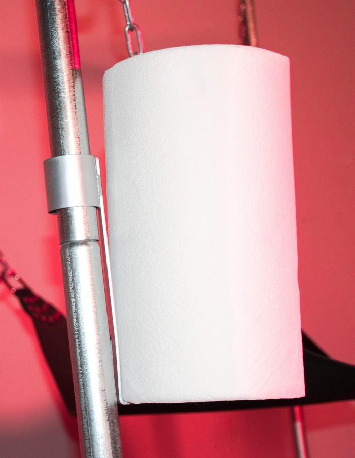 JimSupport Sling Frame Paper Towel Holder Accessory