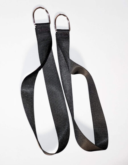 Black Nylon Ankle Stirrups by JimSupport