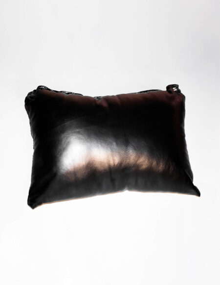 JimSupport Leather Pillow