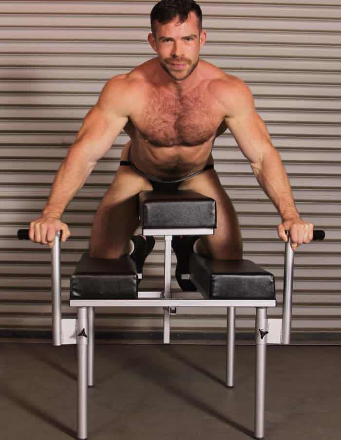 JimSupport Fuck Bench, Model Liam Knox