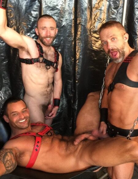 TitanMen Dec 2015 Lounging in the Sling