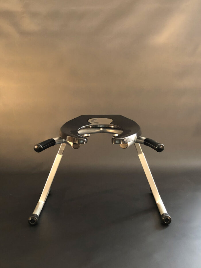 JimSupport Handled T-Leg Rim Seat, Straight On