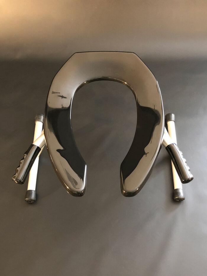 JimSupport Handled T-Leg Rim Seat Overhead View