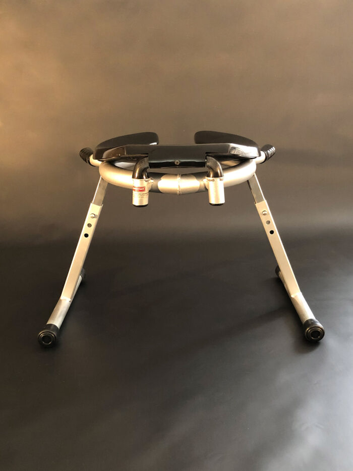 JimSupport Handled T-Leg Rim Seat Rear View