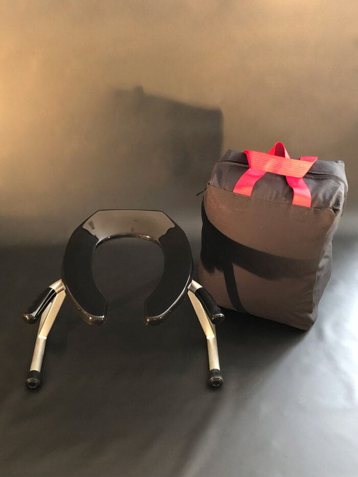 JimSupport Handled T-Leg Rim Seat With Bag