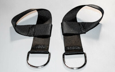 Nylon Self-Tightening Wrist Restraints