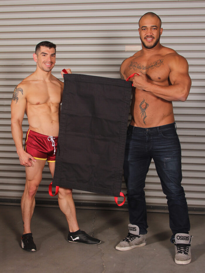 JimSupport Deluxe Canvas Sling With Red Nylon Loops and Models